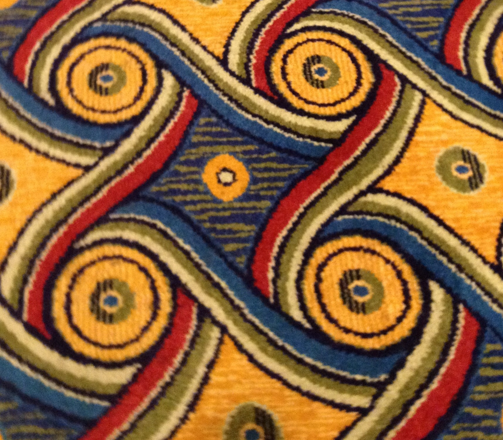 psychedelic carpet