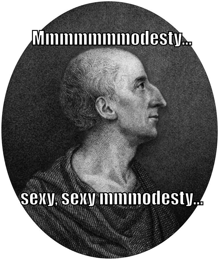 "The Reverend James Fordyce says ""Mmmmmmmodesty... sexy, sexy mmmodesty..."""